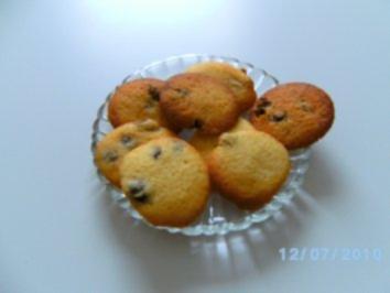 Rosinenhäufchen -Weihnachtsbäckerei- - Rezept - Bild Nr. 2
