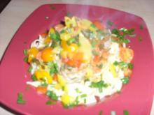 Thunfisch auf Nudeln - Rezept
