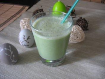 Matcha-Tee-Bananen Milch - Rezept