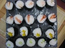Vegetarisches Sushi - Rezept