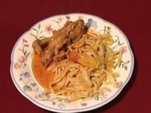 Provenzalisches Huhn mit hausgemachten Spätzle (Veronika Fischer) - Rezept