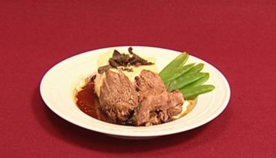 7-Stunden-Lamm mit Kartoffel-Trüffelpüree (Rolf Scheider) - Rezept