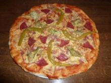 Freitags - Pizza - Rezept