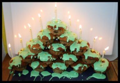 Muffin-Weihnachtsbaum - Rezept - Bild Nr. 2