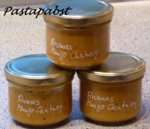 Ananas-Mango-Chutney - Rezept