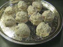 Kernige Kokosmakronen - Rezept