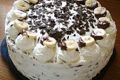 Himmlische Banannen Torte - Rezept