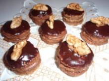 Kekse: Walnuss - Törtchen - Rezept