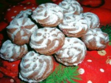 Rezept: Kekse: Himbeer - Rosetten