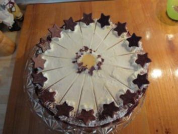 Eierlikör-Nougat-Torte - Rezept