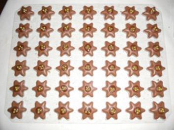 PRALINEN - Schoko-Coco-Sternchen - Rezept