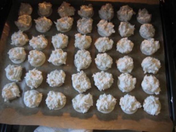 Weihnachtsplätzchen  -Kokosmakronen- - Rezept - Bild Nr. 13