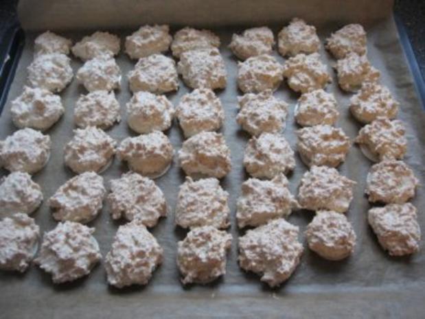 Weihnachtsplätzchen  -Kokosmakronen- - Rezept - Bild Nr. 14
