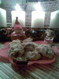 Mandel-Schoki-Kekse - Rezept