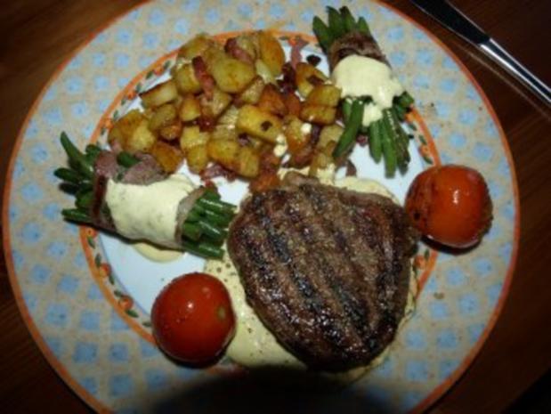 Steakteller am Sonntag - Rezept - Bild Nr. 2