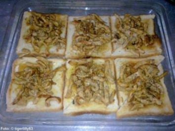 "Rezept: Champignon-Toast ""Förster Art"""