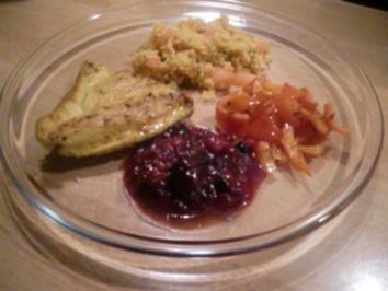 Putenschnitzel-orientalisch- - Rezept