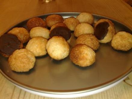 Weihnachtsplätzchen: Kokosmakronen auf die andere Art nach David Lebovitz - Rezept