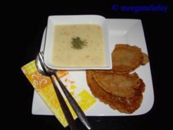 Griessuppe - geröstet - Rezept