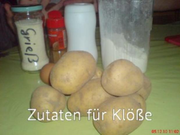Kasslerbraten aus dem Bratenschlauch mit Kartoffelklößen - Rezept - Bild Nr. 6
