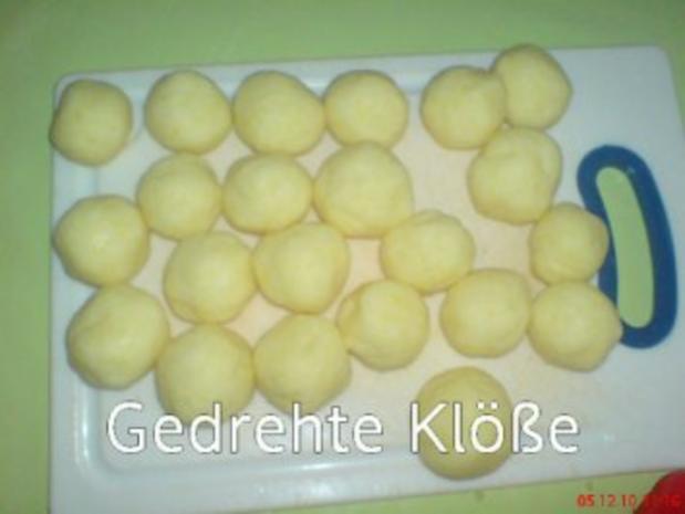 Kasslerbraten aus dem Bratenschlauch mit Kartoffelklößen - Rezept - Bild Nr. 7