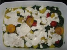 Spinatkartoffel - Rezept