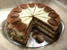 Schokoladen-Glühwein-Torte - Rezept
