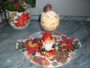 Dessert : SCHNEEROSE im Winter....))))))) - Rezept