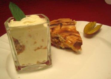 Pflaumenkuchen mit Baiserschicht und Vanillecreme - Rezept