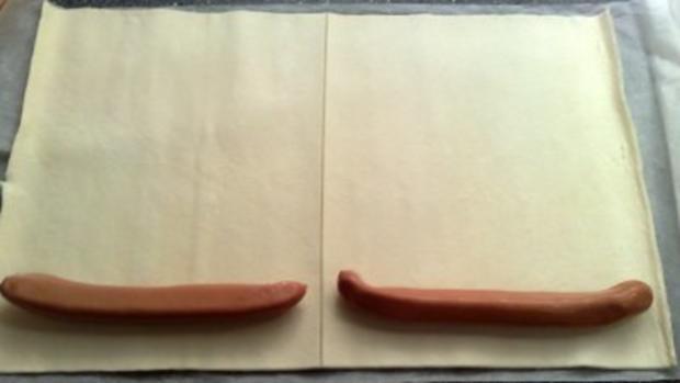 Hotdog im Blätterteig - Rezept - Bild Nr. 4