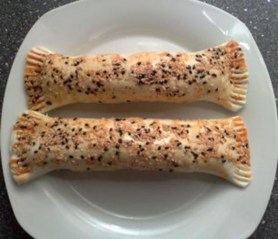 Hotdog im Blätterteig - Rezept - Bild Nr. 9