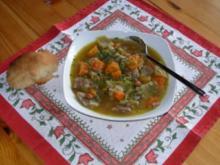 Suppe nach Holzfällerart - Rezept