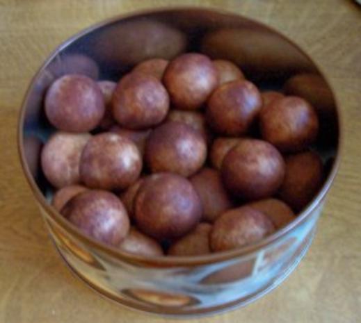Süßes: Marzipan-Kartoffeln ... ala Oma - Rezept - Bild Nr. 4