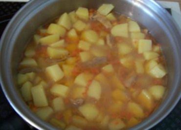 Rezept: Kochen: Kartoffel-Gemüse-Eintopf
