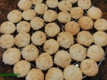 Kekse:  KOKOSMAKRONEN - Rezept