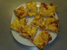 Pizzaecken Hawai - Rezept