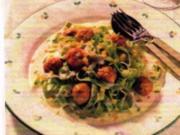 Bratwurst-Klößchen in Schnittlauchsoße - Rezept