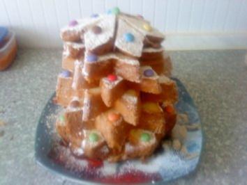 Zwergi's weihnachtlicher Panettone - Baum - Rezept - Bild Nr. 2