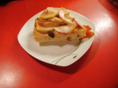 Hessische Küche:Grießauflauf mit Äpfel - Rezept