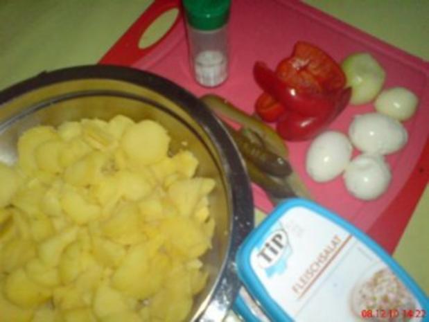 Mein bunter Kartoffelsalat - Rezept - Bild Nr. 2