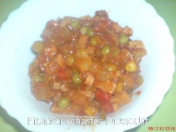 Mein Pikanter scharfer  Pustasalat - Rezept