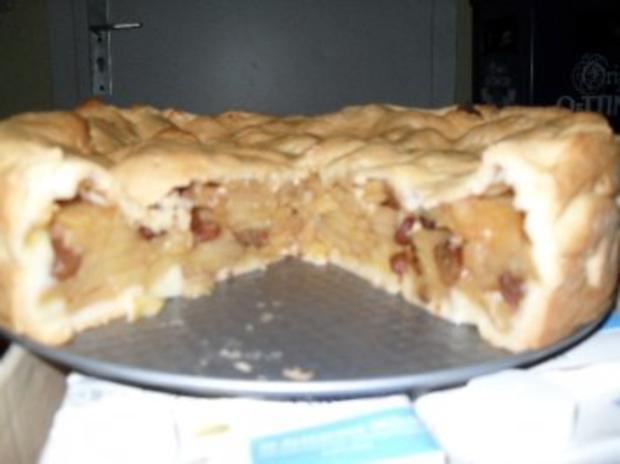 gedeckter Apfelkuchen wenn es schnell gehn muß - Rezept - Bild Nr. 2