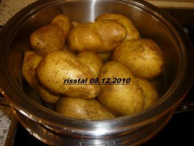 Verlorene Eier in Zwiebelsoße - Rezept - Bild Nr. 2