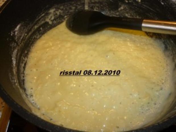 Verlorene Eier in Zwiebelsoße - Rezept - Bild Nr. 4