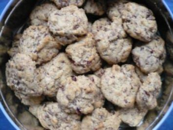 Cranberrie - Schoko- Kekse - Rezept
