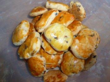 Kirsch-Marzipan-Happen - Rezept