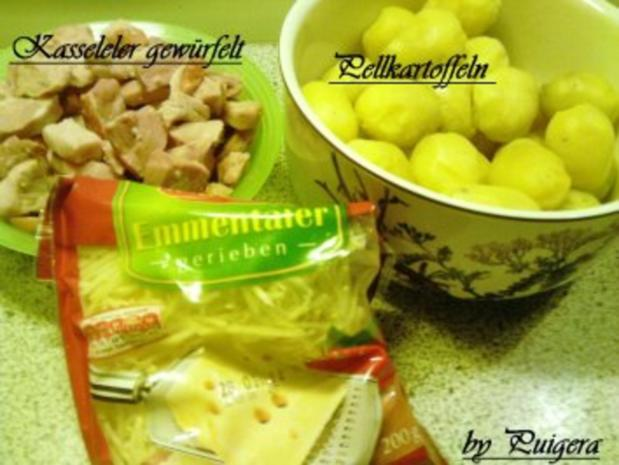 Überbackener Kasseler-Kartoffeltopf - Rezept - Bild Nr. 2