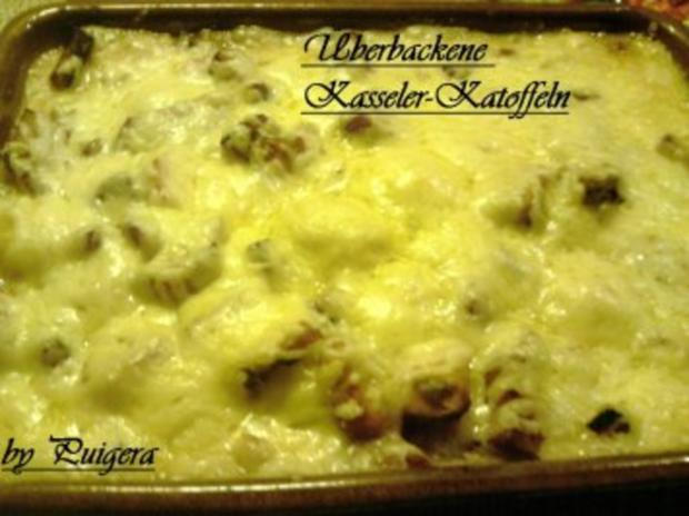 Überbackener Kasseler-Kartoffeltopf - Rezept