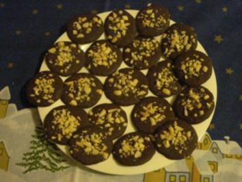 Schokoladen - Kokos - Nuss - Taler - Rezept