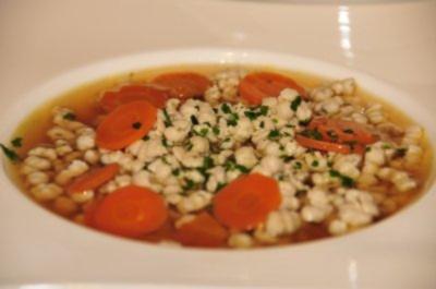 Suppeneinlage - Brätspätzle - Rezept